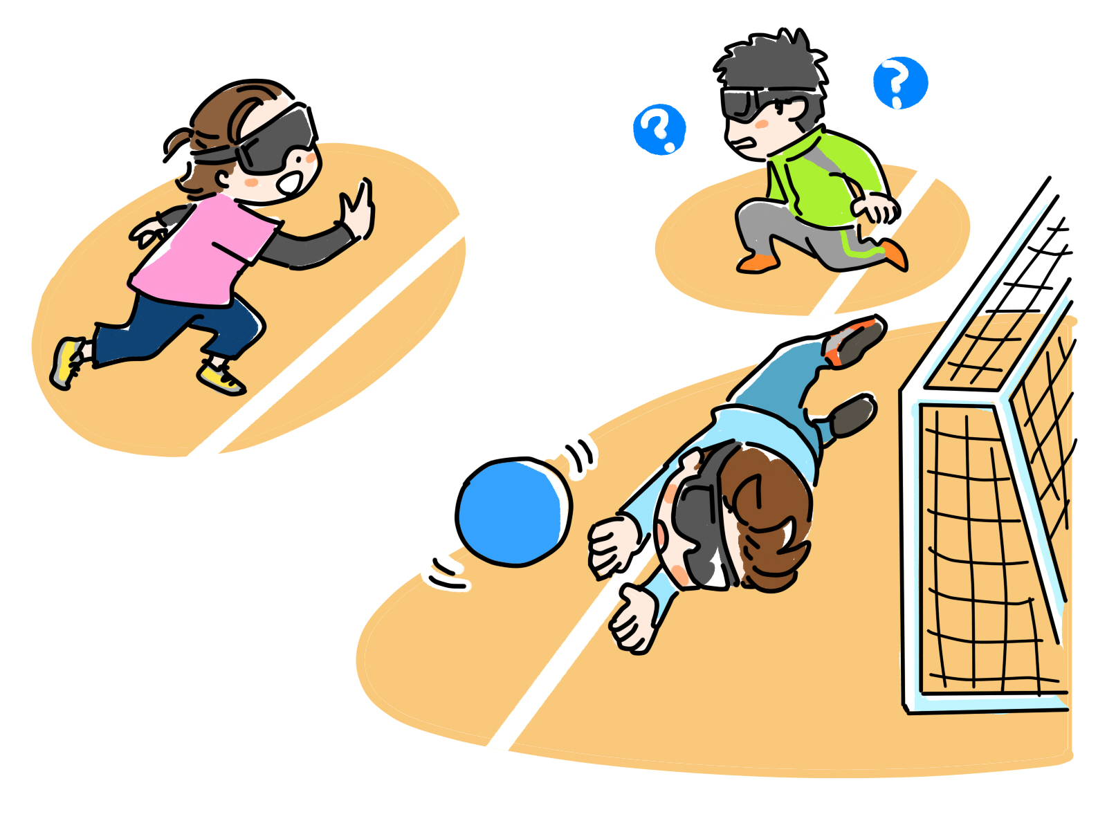 パラリンピック「静寂の中の格闘技」ゴールボールとは?