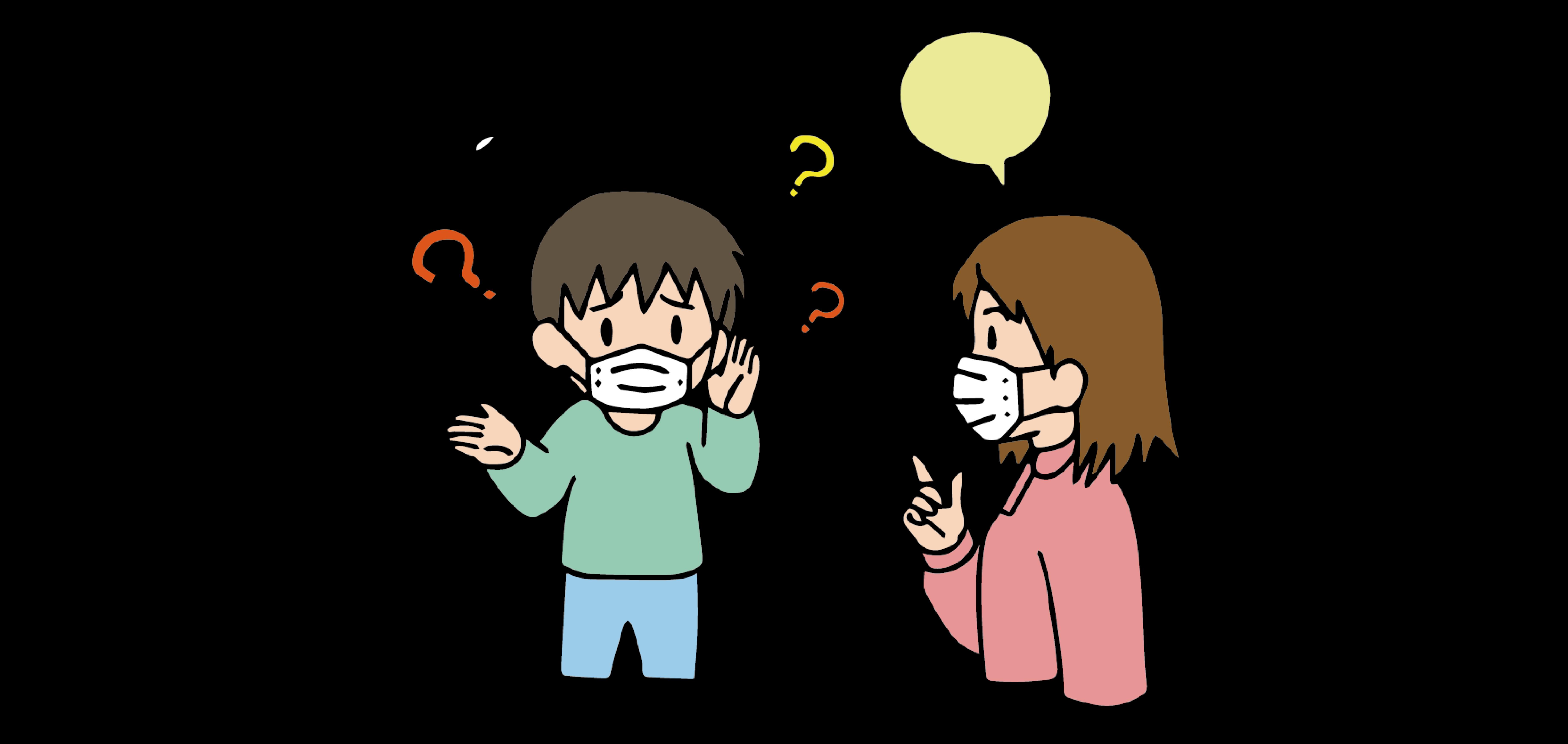 聴覚障がい者を悩ませているコロナ禍
