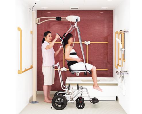 入浴支援ロボット